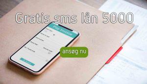 gratis sms lån 5000