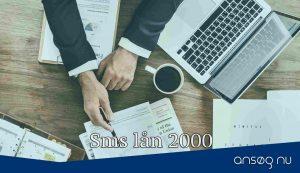 Sms lån 2000