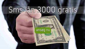Sms lån 3000 gratis