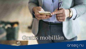 Gratis mobillån