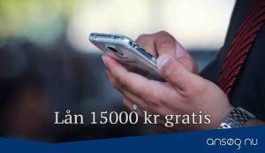 Lån 15000 kr gratis