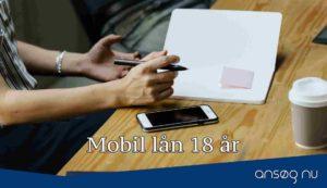 Mobil lån 18 år