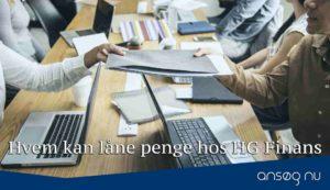 Hvem kan låne penge hos HG Finans
