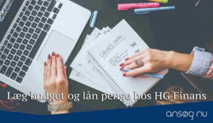 Læg budget og lån penge hos HG Finans