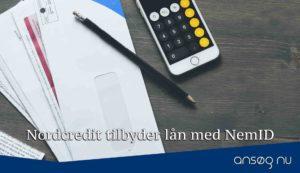 Nordcredit tilbyder lån med NemID
