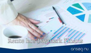 Rente hos Paymark Finans