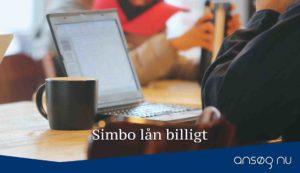 Simbo lån billigt