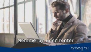 Nemme lån uden renter
