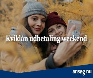 Kviklån udbetaling weekend
