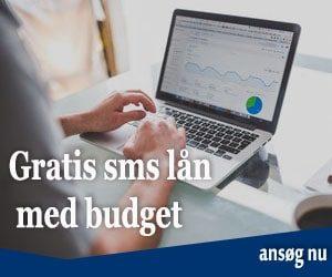 Gratis sms lån med budget