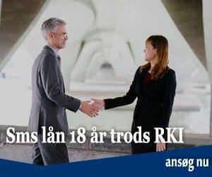 Sms lån 18 år trods RKI